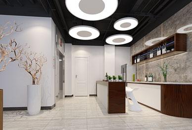 玉清泉环境 | 2000平米现代典雅环境公司办公室设计