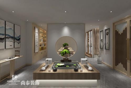 中式风格茶艺体验馆江苏11选5走势图下载设计 | 茶阅世界