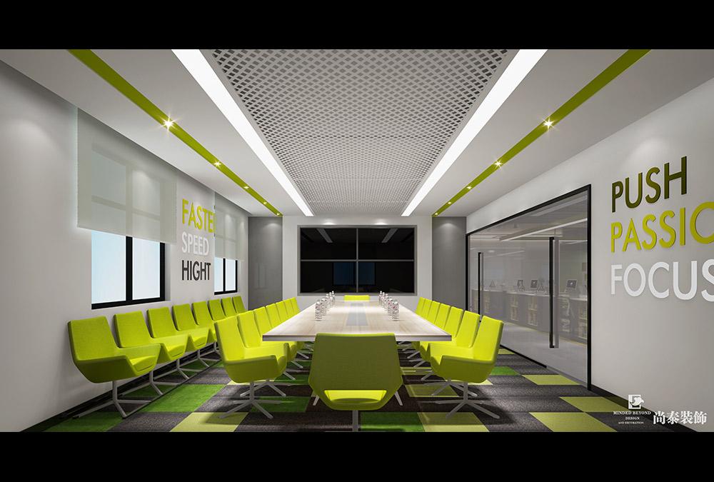 600平方米办公室设计效果图-坐标软件