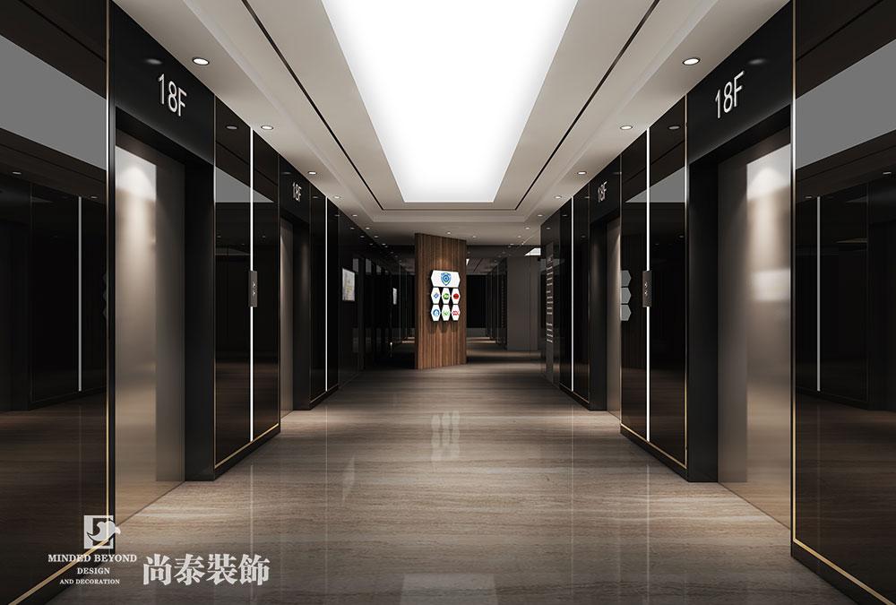 1800平米办公室江苏11选5走势图下载效果图-前海资本联盟