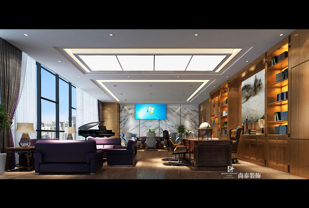 现代办公室江苏11选5走势图下载设计效果图-巴罗克集团