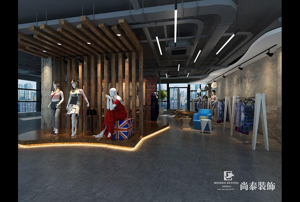 路卡西   1000㎡时尚女装公司办公室设计