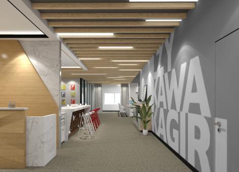 深圳1000m² 新媒体公司办公室设计 | 量子云科技