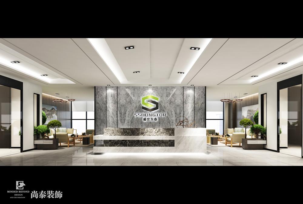新中式办公室江苏11选5走势图下载效果图-盛世东泰