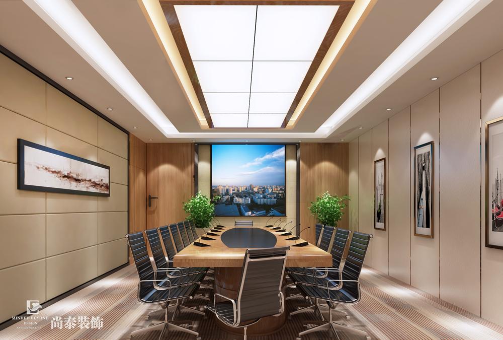 4000平米办公室江苏11选5走势图下载设计效果图-奥拓电子