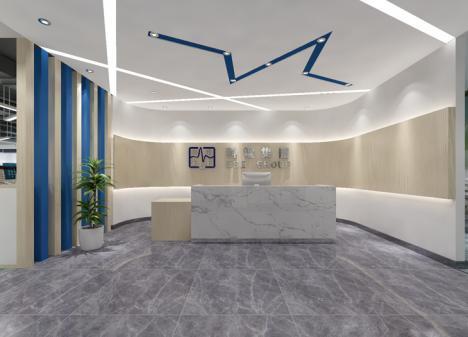 900m²设备公司办公室江苏11选5走势图下载效果图   科电工程