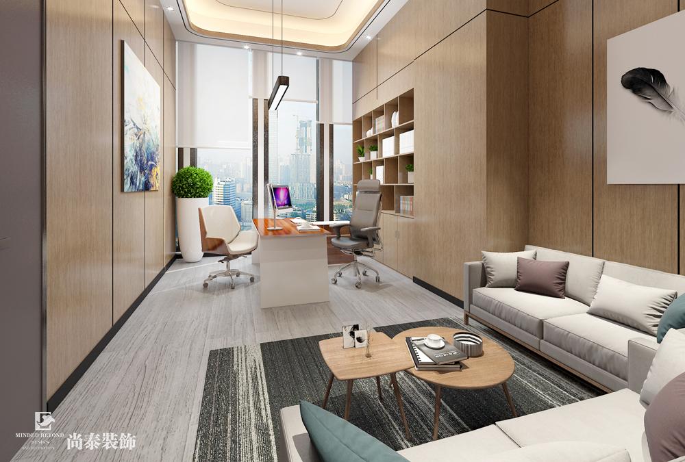 300平米办公室江苏11选5走势图下载效果图-百汇创建