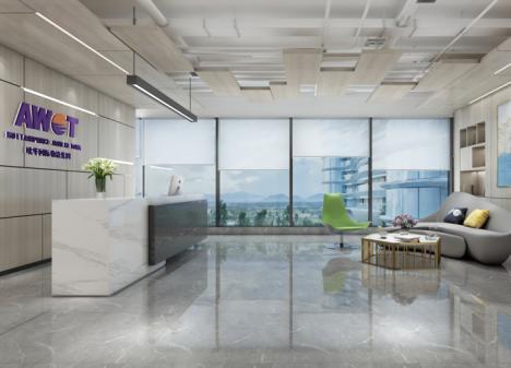 750㎡ 国际物流公司深圳办公室设计 | 欧华国际物流
