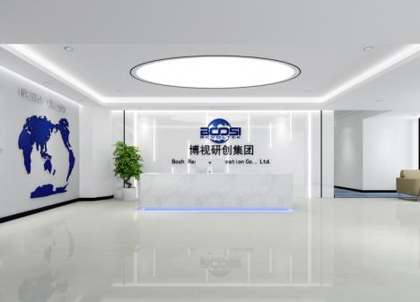 900㎡ 显示屏科技公司办公室江苏11选5走势图下载设计   博视研创