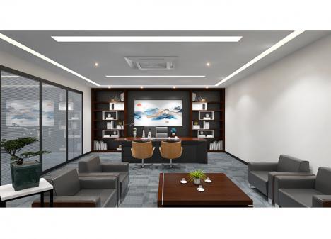 新恒业科技   40平米董事长办公室设计