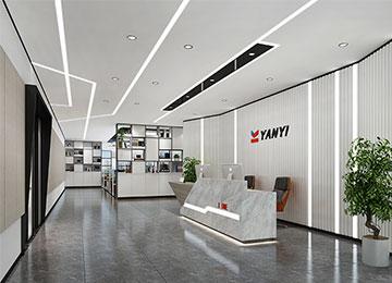 深圳龙华1800平米新材料公司办公室江苏11选5走势图下载设计 | 研一