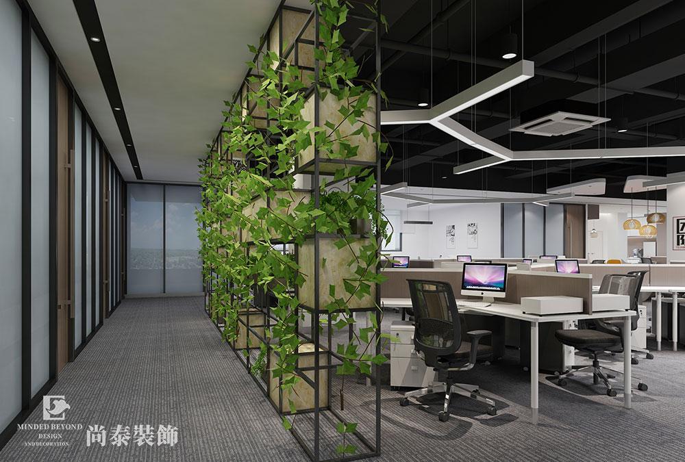1500㎡办公室江苏11选5走势图下载效果图-骏翔宇辉