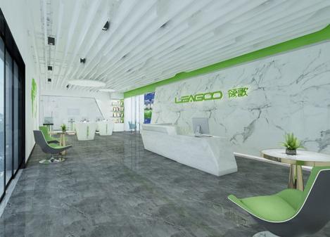 500平米现代简约科技公司办公室江苏11选5走势图下载设计 | 领歌智谷