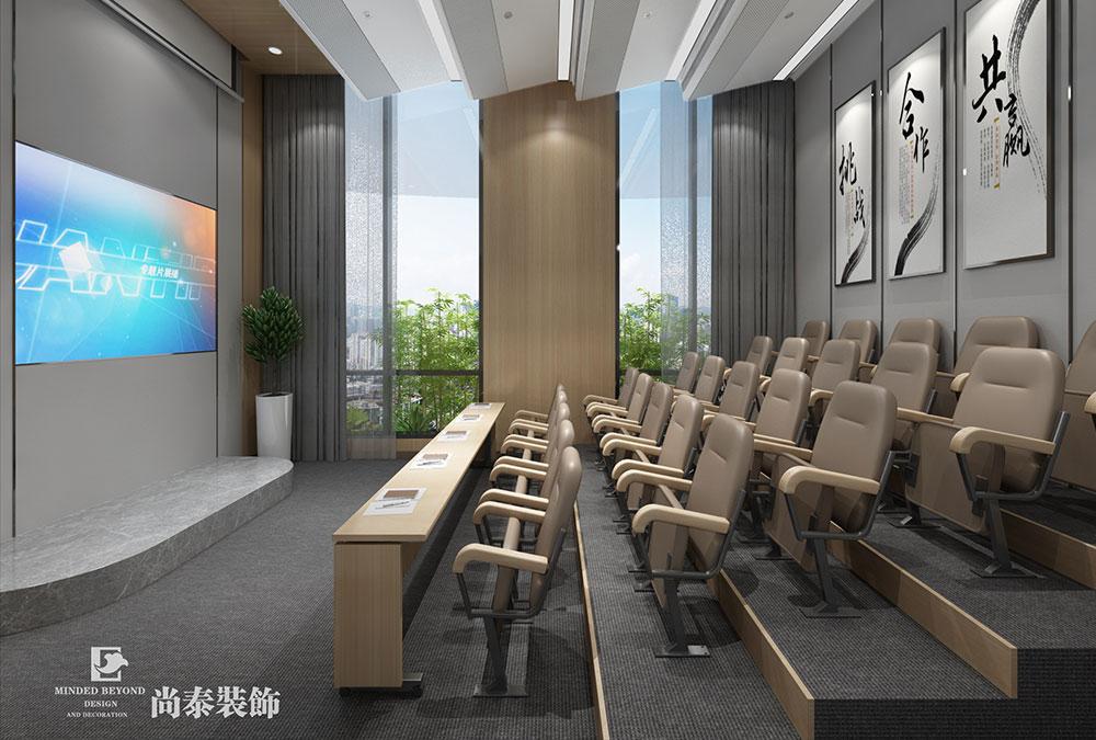 1600㎡办公室江苏11选5走势图下载效果图-双瀛品牌