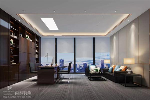 金融公司老板办公室江苏11选5走势图下载效果图