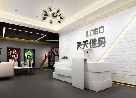 250平米loft工业风健身房江苏11选5走势图下载设计   天天健身