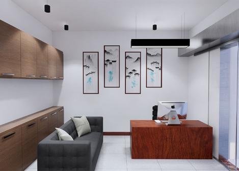 50平米简约新中式律师事务所设计江苏11选5走势图下载