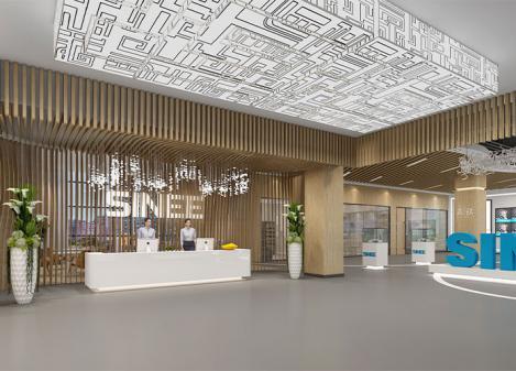 600平米电气公司办公室江苏11选5走势图下载设计 | 正弦电气