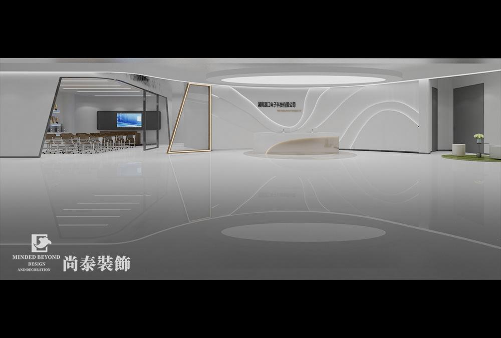 如何裝修設計辦公室前臺?
