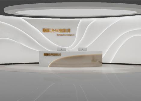 400平米简约电子科技公司办公室设计 | 源江电子科技