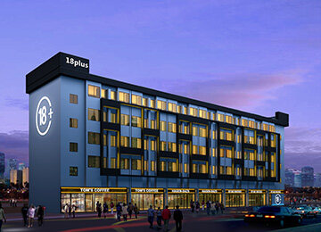 3100平米青年公寓改造设计 | 18Plus公寓