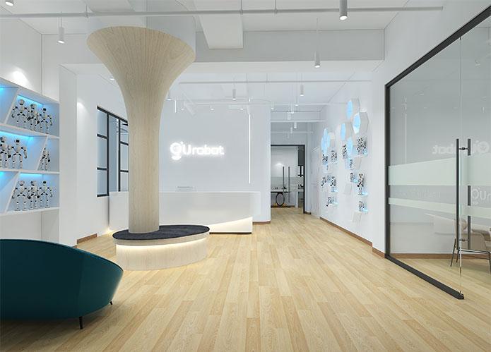 1000平米玩具研发公司办公室设计效果图 | 云溪谷科技