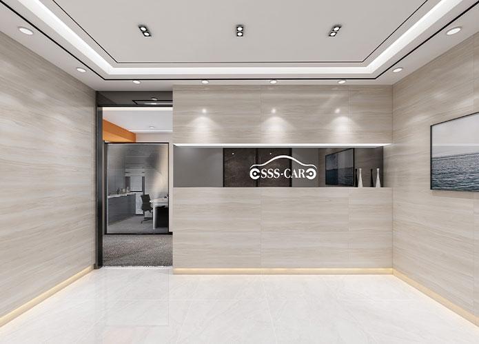 130㎡科技公司简约办公室设计 | 世视顺科技