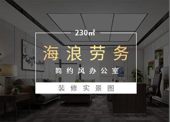 现代简约风格办公室江苏11选5走势图下载效果图-海浪劳务
