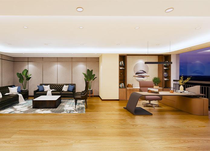 2000㎡云科技公司办公室设计 | 卡莱特(深圳)