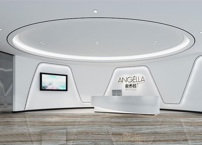 3600㎡直播带货办公室江苏11选5走势图下载设计 | 安杰拉科技