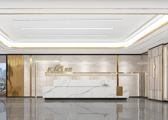 1000㎡化妆品公司办公室江苏11选5走势图下载设计 | FONCE梵西