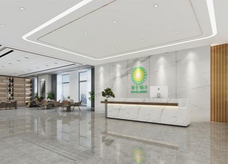 1600㎡环保产业公司办公室江苏11选5走势图下载设计   绿色动力环保集团